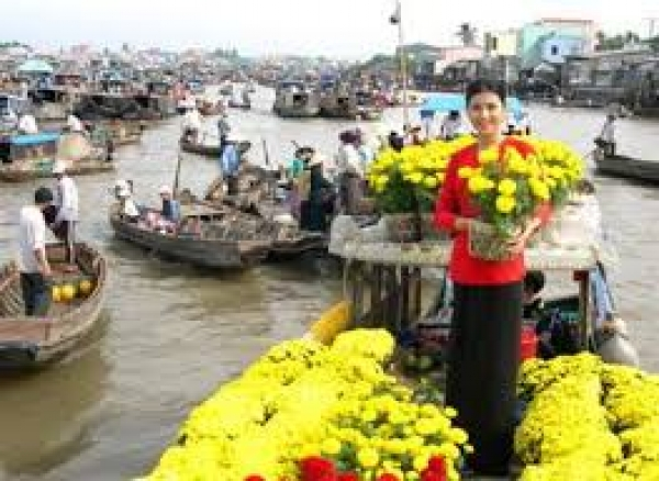 South Vietnam tour -  2 day Mekong River @85$